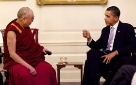 China complains to Obama Dalai Lama meeting