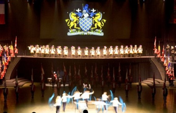 International Tattoo, Halifax, where the queen was going to appear.