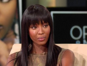 Naomi Campbell breaks down in tears