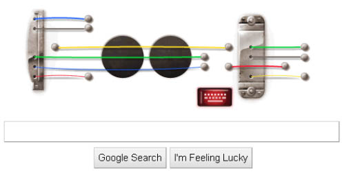 Google doodle celebrate Les Paul birthday