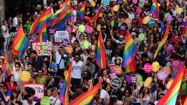 turkey gay pride parade istanbul nationalturk 009 610x343 easy way get pregnant   #1 Fastest Solution For Getting Pregnant In The ...