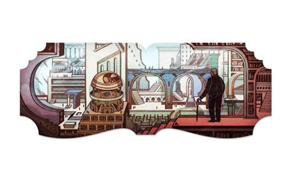 Google Doodle pays tribute to Argentine author Jorge Luis Borges