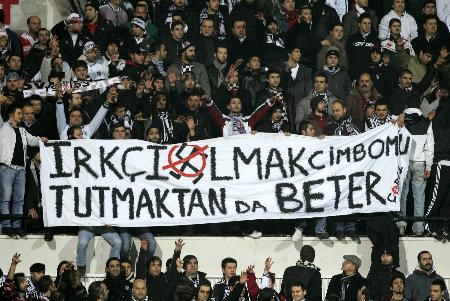 Besiktas Fans are calm and too sophisticated to cause any problem