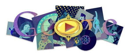 Latest Google Doodle tribute to legendary Freddie Mercury