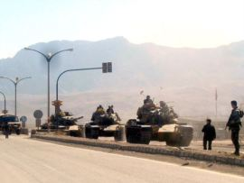 Turkish Tanks Reportedly Move Into Northern Iraq Toward PKK Camp