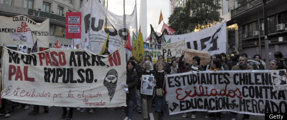 Chile Protests to continue with march from students