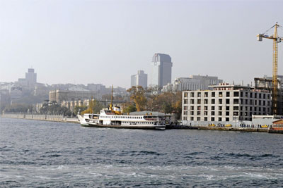 Another stab into Istanbul's silhouette on Bosphorus