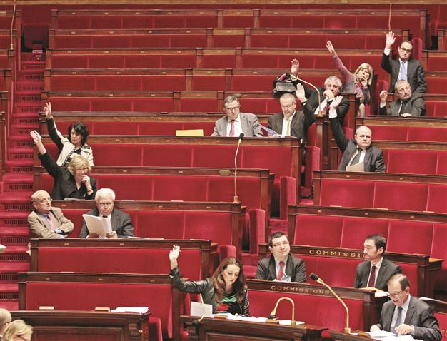 Even Members of the French Parliament doubt the Armenian Genocide allegedly committed by Ottoman, as only 50 of the 557 members voted yesterday the Genocide bill