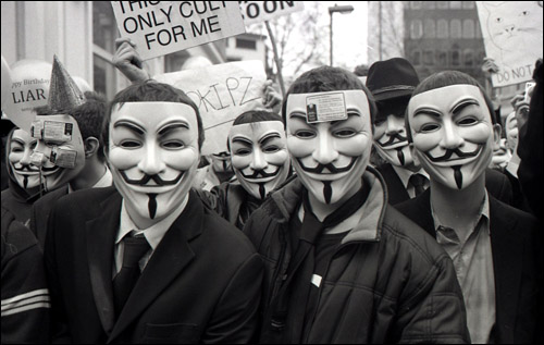 Anonymous will act against National Defense Authorization Act