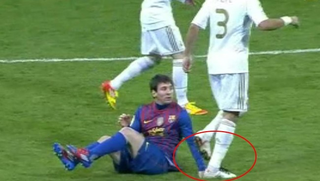 Real Madrid Vs Barcelona  Another Suffering Of Madrid By Barca  Pepe