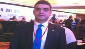 Chp Istanbul MP Umut Oran at Socialist International's Meeting in San Juan, Costa Rica