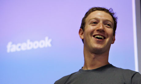 Facebook founder Mark Zuckerberg : 'We don't build services to make money; we make money to build better services'