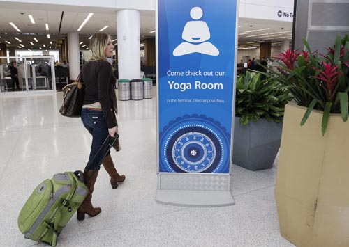 Yoga Rooms for travelling yogists in need of purification