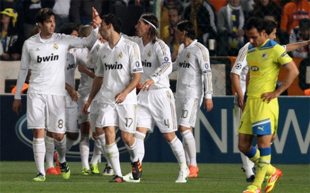 Apoel vs Real Madrid : End of a Cinderella story in Cyprus : 0 : 3