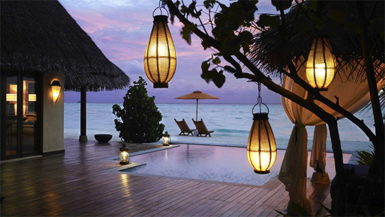 Taj Exotica Resort Maldives for a romantic Maldives Honeymoon