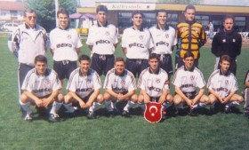 Hürser Tekinoktay at Besiktas Youth Academy