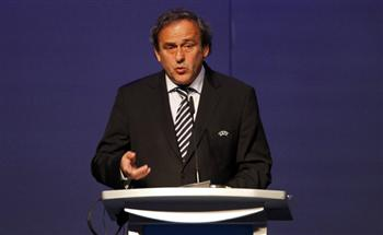 UEFA president Platini speaks during the opening session of the 36th Ordinary UEFA Congress