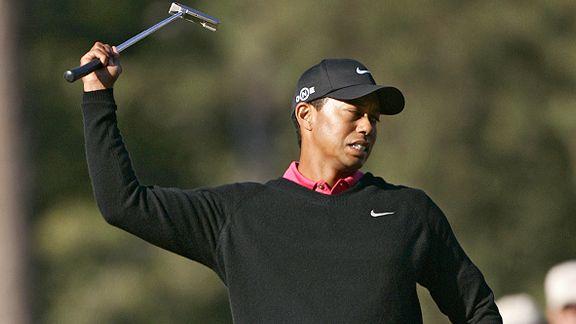 Tiger Curse curses after missed shot : Border-line gentle golf community in shock !
