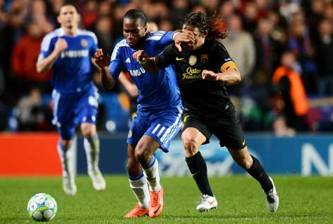Chelsea vs Barcelona 2012 : Chelsea upset mighty Barcelona with precious win