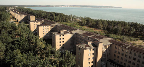Will Prora welcome its guests with haunted Nazi hotel image ?
