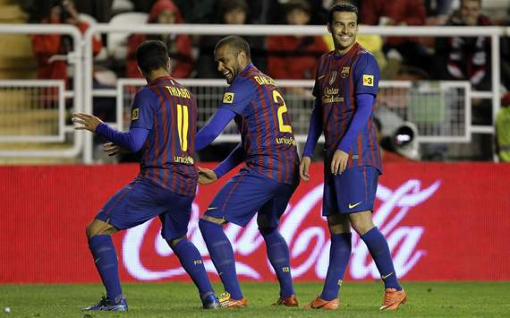 Rayo Vallecano vs Barcelona 2012 : After a chaotic week Barca wins with style