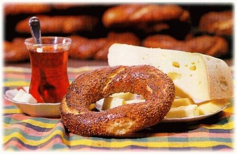 Turkey Greece fight over bagels