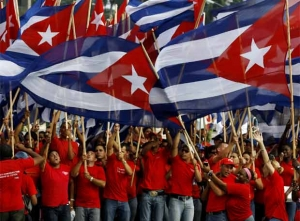 Cuba celebrated May 1 Parade Workers Day with workers from 60 countries shoulder to shoulder
