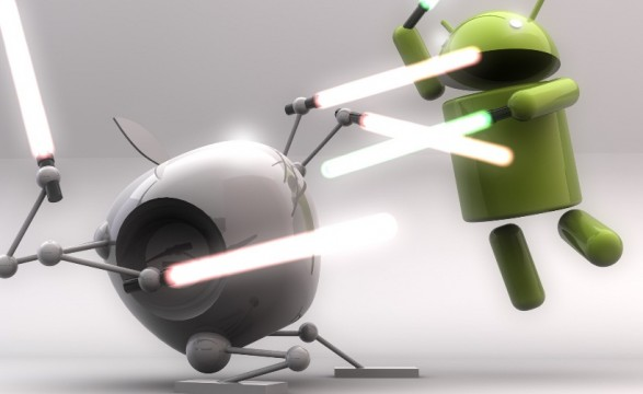 Apple Google war escalates ! No google mapping for Apple's IPhones