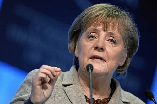 Germany cannot save the eurozone alone - Angela Merkel appeals