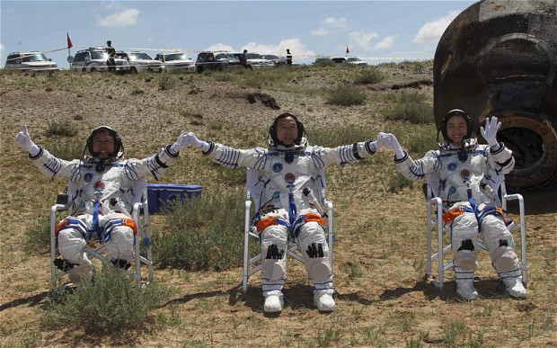 astronauts after being in space - photo #43