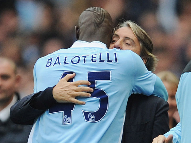 Mario Balotelli outshone Wayne Rooney, claims City coach Mancini