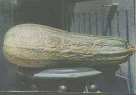 Cucember with Allah name on it : Not discovered by Salafis yet ?