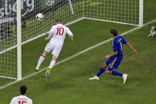 England vs Ukraine Euro 2012 : Rooney goal sends England into lap of Italy