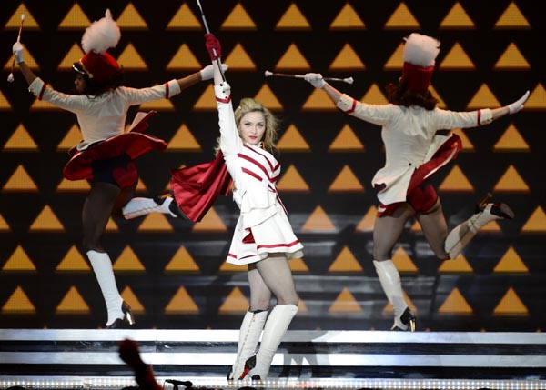 Madonna : Why her world tour 2012 MDNA started in Tel Aviv, Israel