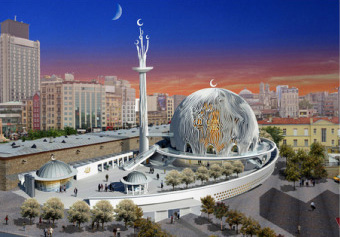 Projected Taksim Mosque and its 'beautiful' design