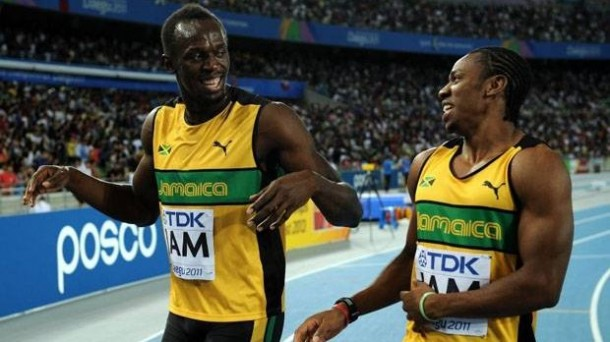 Great Jamaican 100 m Duel between Usain Bolt & Yohan Blake ...