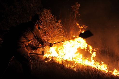 Forest fires raging in Spain's north-eastern Catalonia region have left three people dead