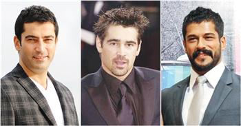 Kenan İmirzalıoğlu (L) and Burak Özçivit (R) are to act alongside Colin Farrell.