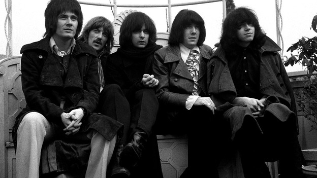 Members of the English band Deep Purple
