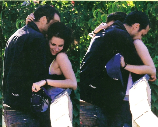Twilight scandal / Kristen Stewart kissing Rupert Sanders
