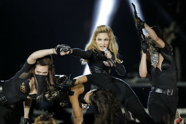 Madonna's performance at the Stade de France in a Paris