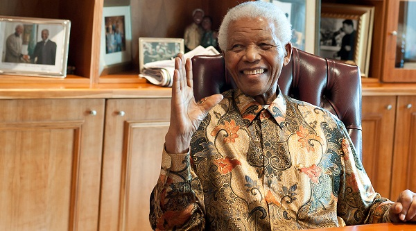 African Hero Nelson Mandela celebrates his 94th Birthday in South Africa