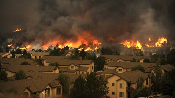 400 residents evacuated / US Western Wildfires 2012