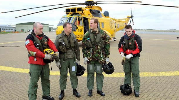 Prince William Rescue Mission : Prince William saves 16-year-old drowning schoolgirl from sea