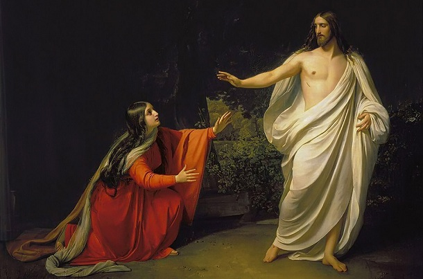 Appearance of Jesus Mary Of Magdala