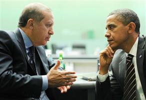 Erdogan, a figure regarded as a leader among Arabs whose nations live a crisis since the so-called Arab spring,  was adressed by Obama as well.