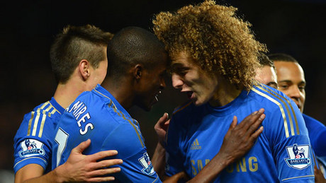 Chelsea came from behind three times against Manchester United on Wednesday