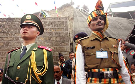 India and China are again involved in territorial row