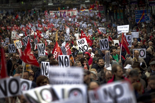 Europe Anti-Austerity Portests:Spain Greece Italy All ...