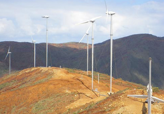 The Aysha I Wind Farm project in Ethiopia